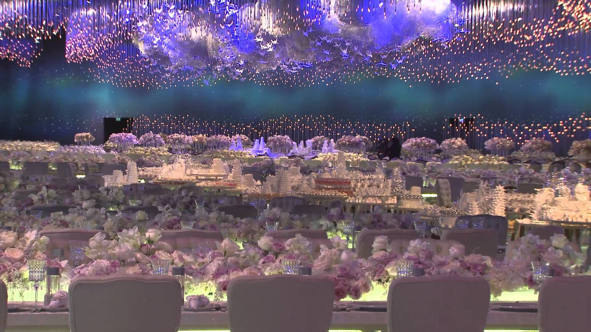 Wedding stage decoration dubai  Stunning Lucid Dream Event Production Videowow Now thatus an event