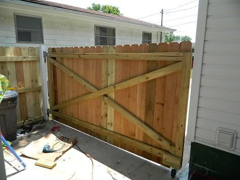 Wood Gate Support Wood Gate Wood Gates Driveway Wood Fence Gates