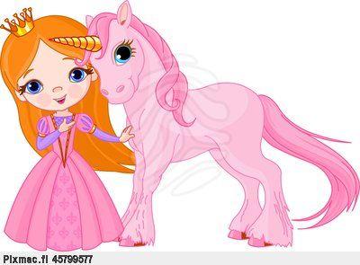 prinsessa ja yksisarvinen
