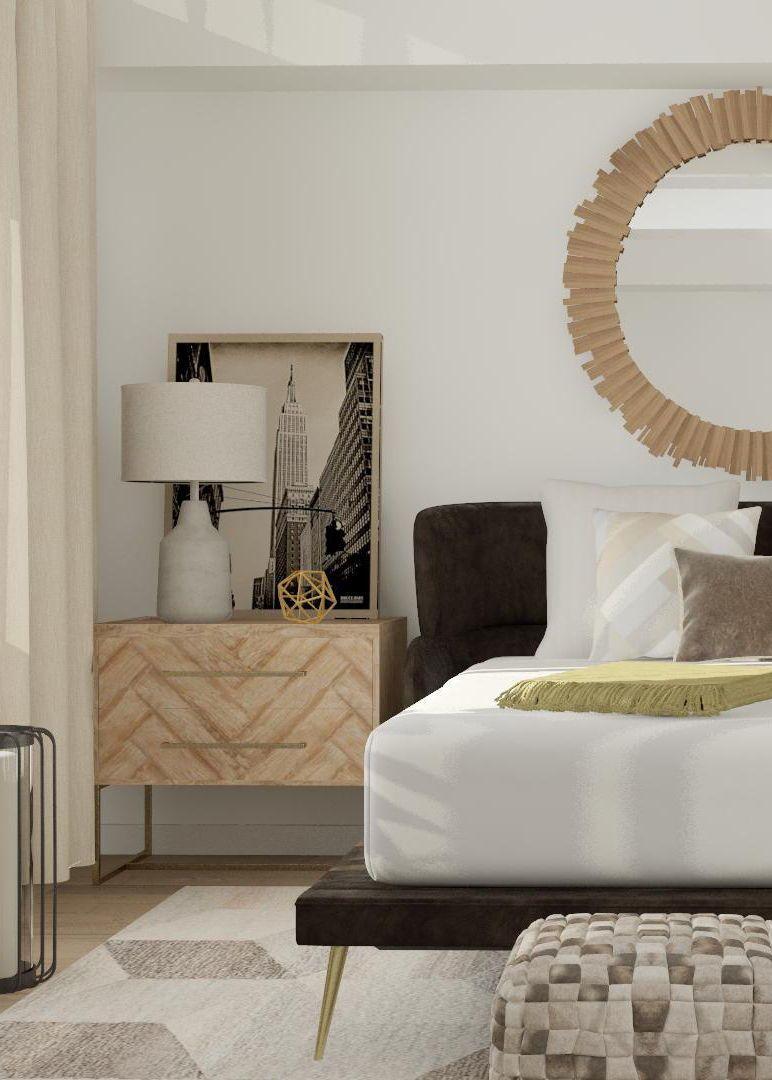 Mid-Century Eclectic Bedroom Design Ideas  Eclectic bedroom