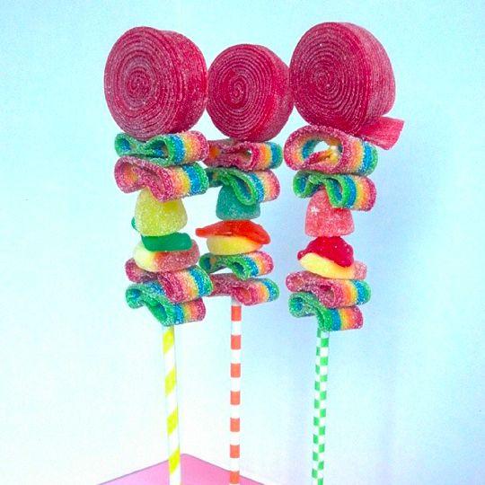 sweet kebabs - Google Search Fiestas Pinterest Dulces, Mesas