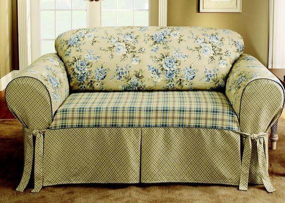 Las fundas para un sill n o para un sof son una soluci n for Cobertor para sofa