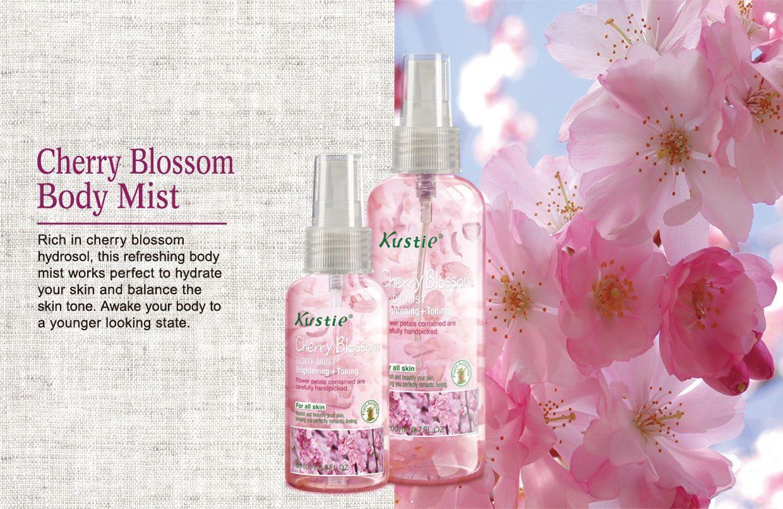 Kustie Cherry Blossom Body Mist Kustie Beautyfromnature Body