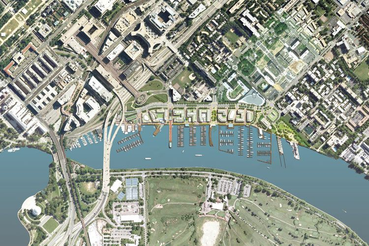 EE& KKS MASTER PLAN FOR THE WHARF ALONG THE WATERFRONT