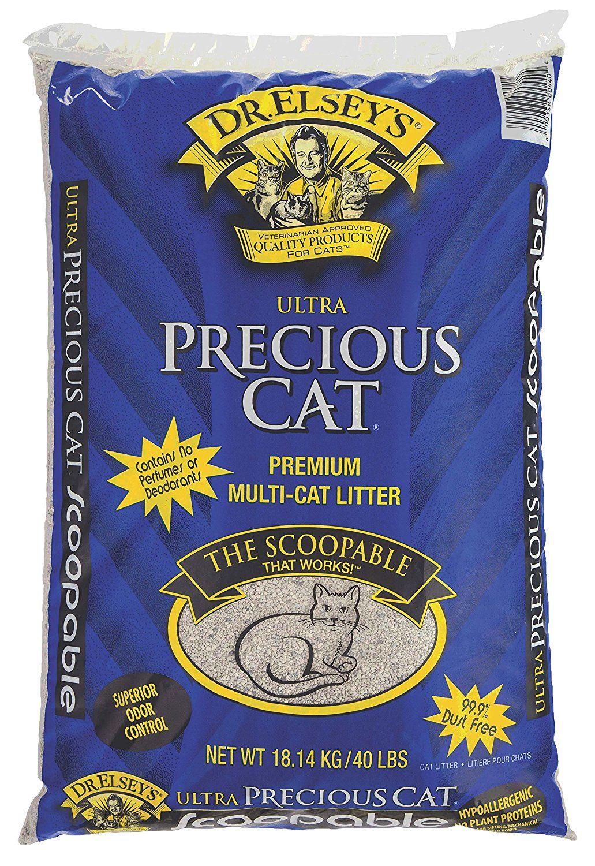 Precious Cat Ultra Premium Clumping Cat Litter ** New and