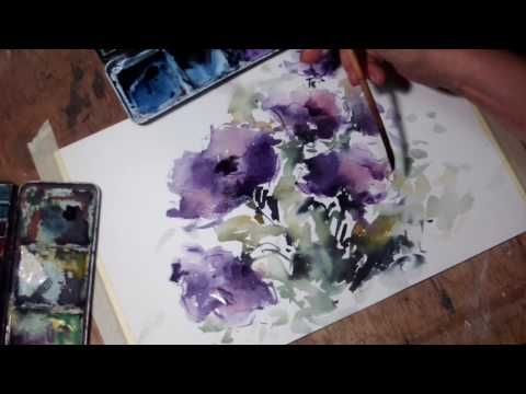 3 Simple Tricks For Unique Watercolor Textures Youtube