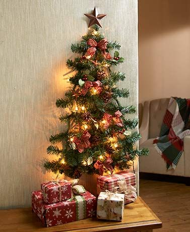 Solve The Problem Of Putting Up A Tree In A Small Space With This