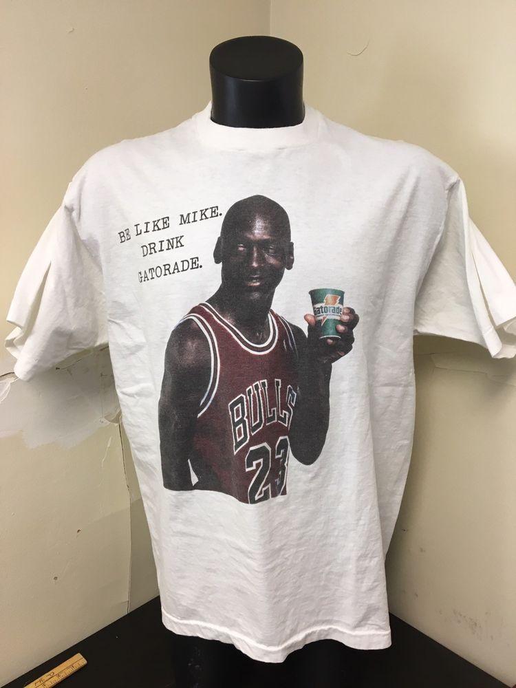45a12c0f Vintage Michael Jordan Gatorade T Shirt Sz XXL RARE #MichaelJordan ...