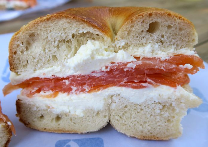 Lox + cream cheese + bagels = heaven. Where to find the best in NYC!