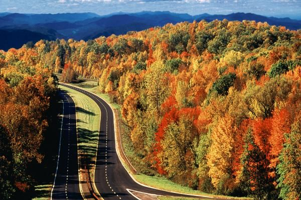 Taconic State Parkway, Hudson Valley, New York, US. A Most Beautiful Place  To Live Near.
