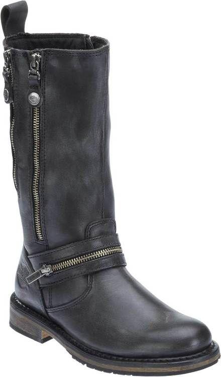 Sackett Ladies Harley Davidson Biker Style Boots