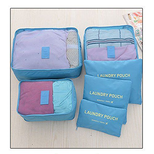 Tune Up Packing Cubes Travel Organizer Mesh Bags Value Set For