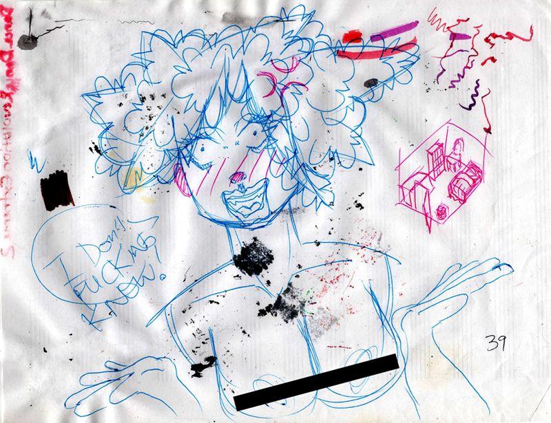 December #16: Random Scribbles on Scrap Paper by nibbobbin ...