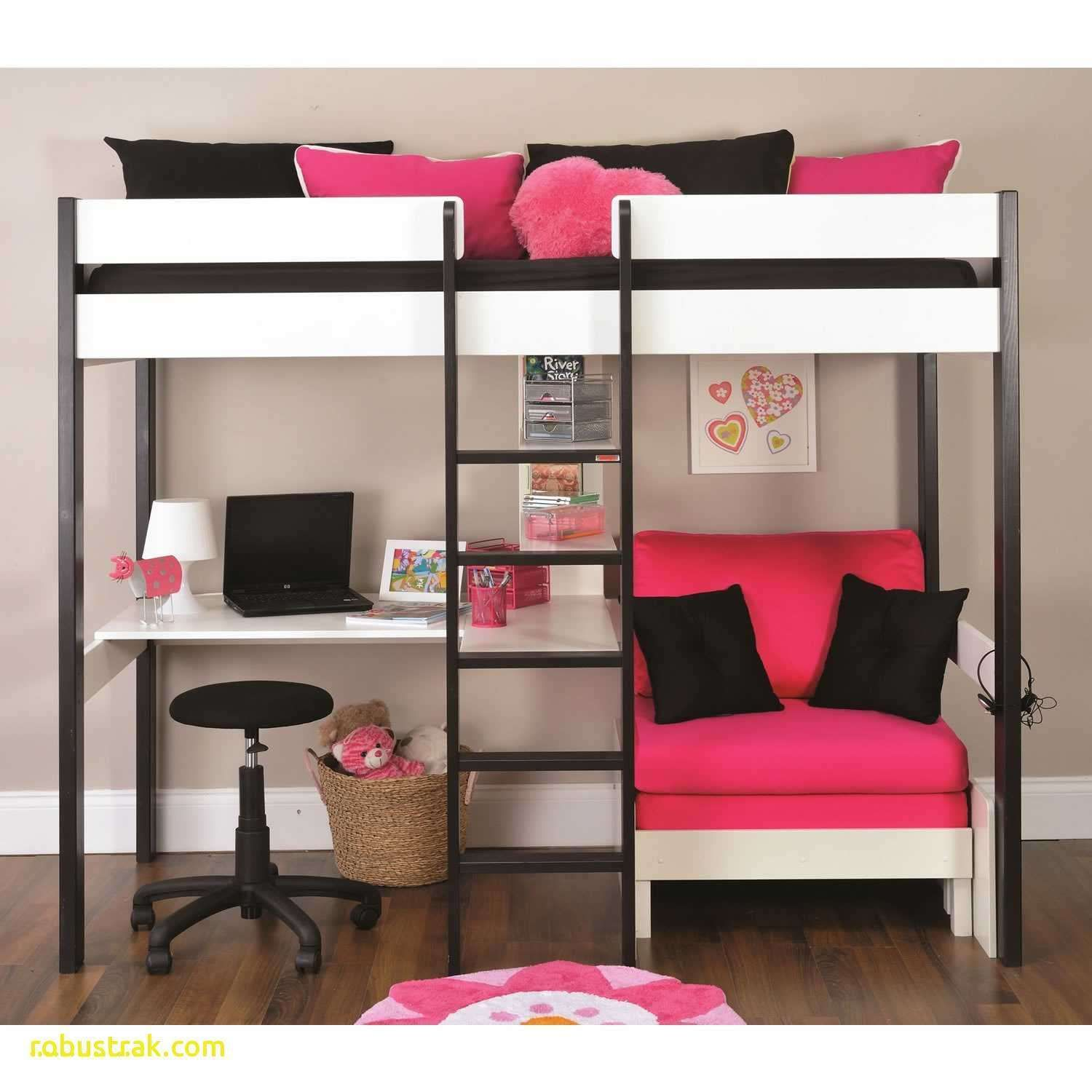 Diy Loft Bed with Desk Loft bed with couch, White loft