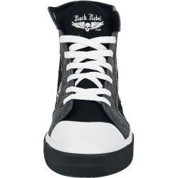 Photo of Rock Rebel by Emp Walk The Line Sneaker high rock rebel by emp