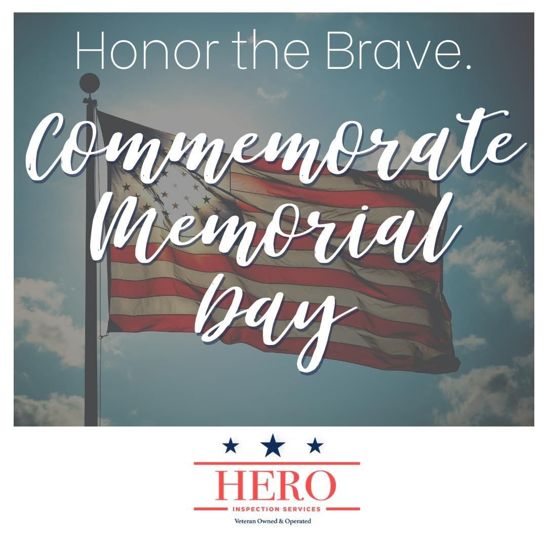 Today, and every day, we remember and honor our HEROES. 🇺🇸 (407) 630-4973 www.herohomeinspections.com • • • • • #HeroInspectionServices #WinterGarden #Orlando #FL #OrlandoRealty #HomeInspector #HomeInspection #centralflorida #orlandoinspector #inspect #inspector #residential #realestate #clermont #listing #oceoee #househunting #justlisted #properties #homesforsale #HomeMaintenance #realty #newhome #property #investment #MemorialDay2020 #USA #MemorialDay #Freedom