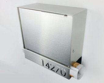 Master Modern Mailbox Stainless Steel Design By Brassandsons