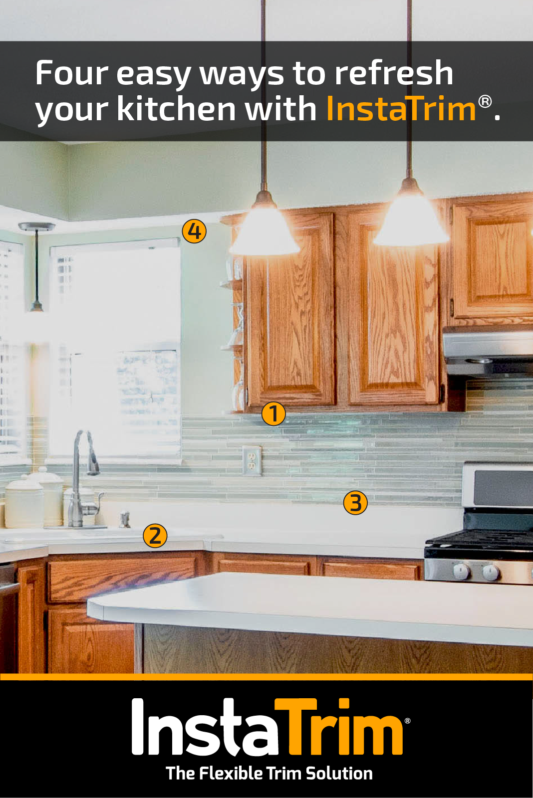 four easy ways to refresh your kitchen with flexible caulk on fast and easy ways to refresh your home on a budget id=95113