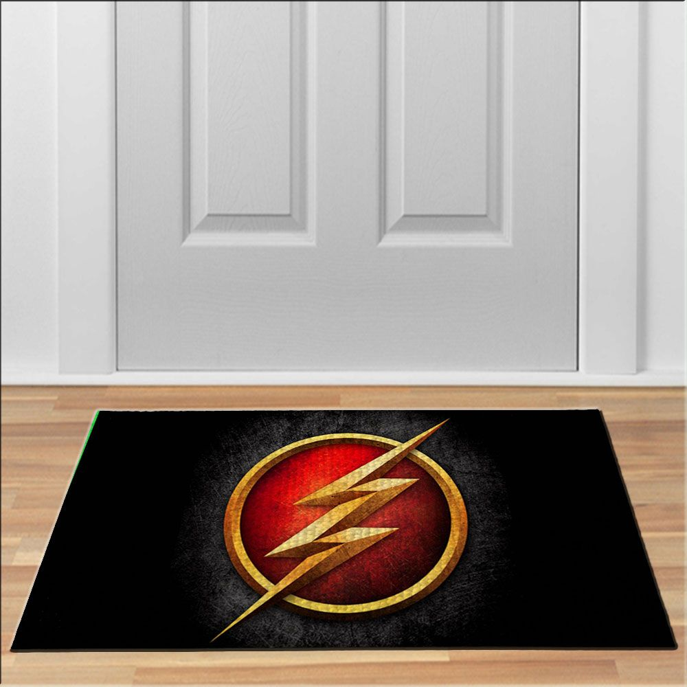 Cool The Flash Hero Floor Durable Door Mat Non Slip