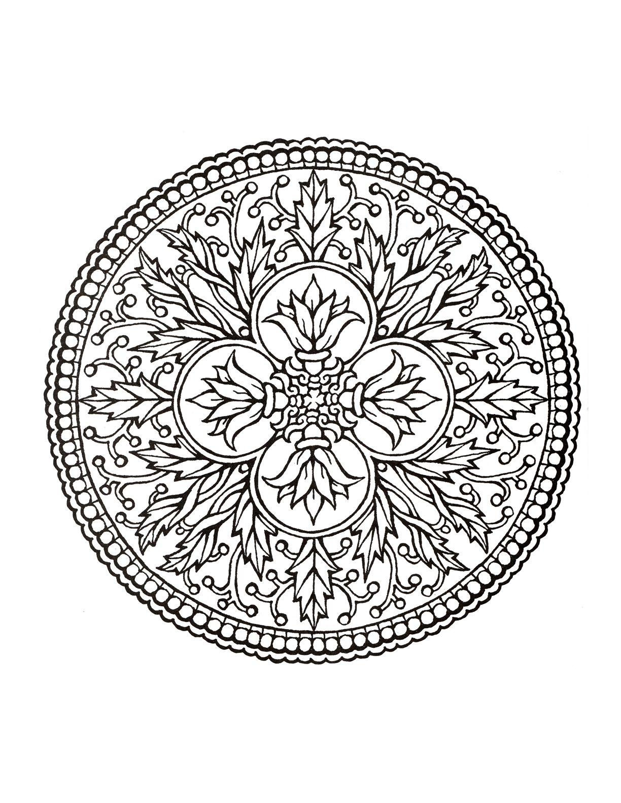 ԑ̮̑♢̮̑ɜ~Mandala para Colorear~ԑ̮̑♢̮̑ɜ | mandalas | Pinterest ...