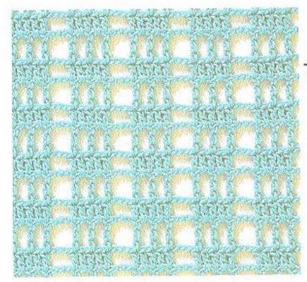 20 Patrones de Puntos ~ Puntadas Crochet / Calados   Patrones para ...