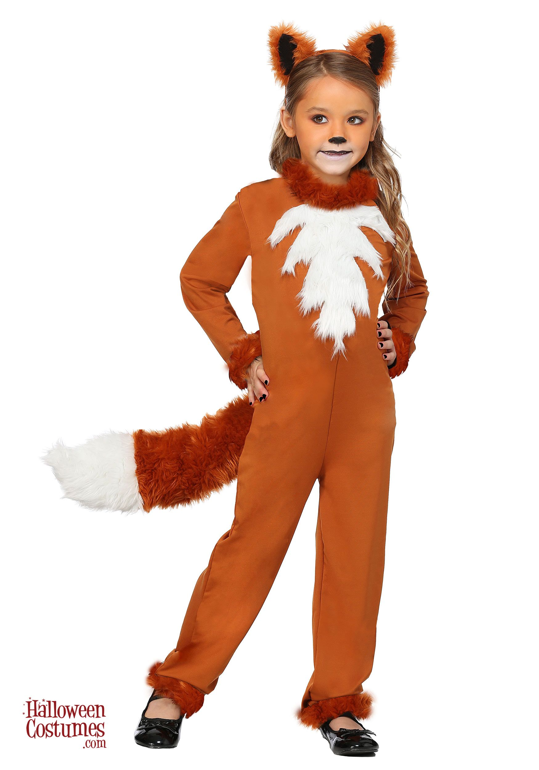 Baby Furry Fox Costume Toddler Animal Fancy Dress Outfit