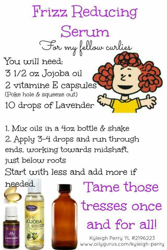DIY frizz serum There are so many fantastic uses for Young Living ...