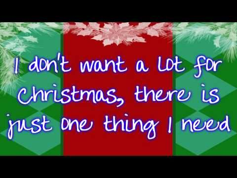 6th Grade All I Want For Christmas Is You By Mariah Carey Karaoke Christmas Music Videos Mariah Carey Lyrics Xmas Songs