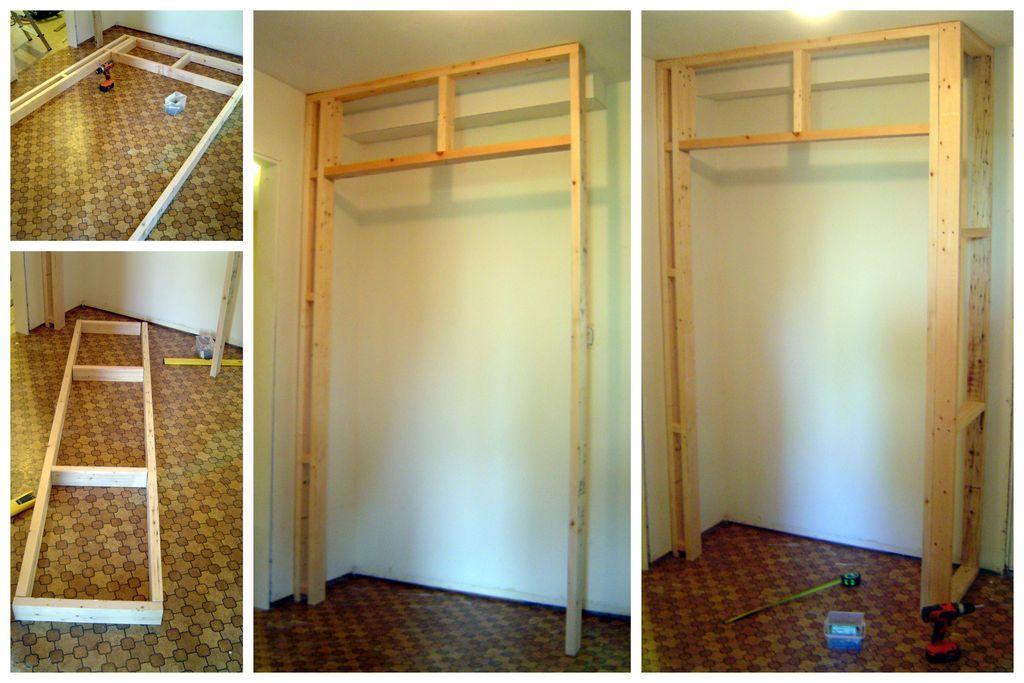 built in wardrobe selber machen m bel und wohnen. Black Bedroom Furniture Sets. Home Design Ideas