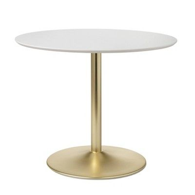 37++ Small round metal dining table Ideas