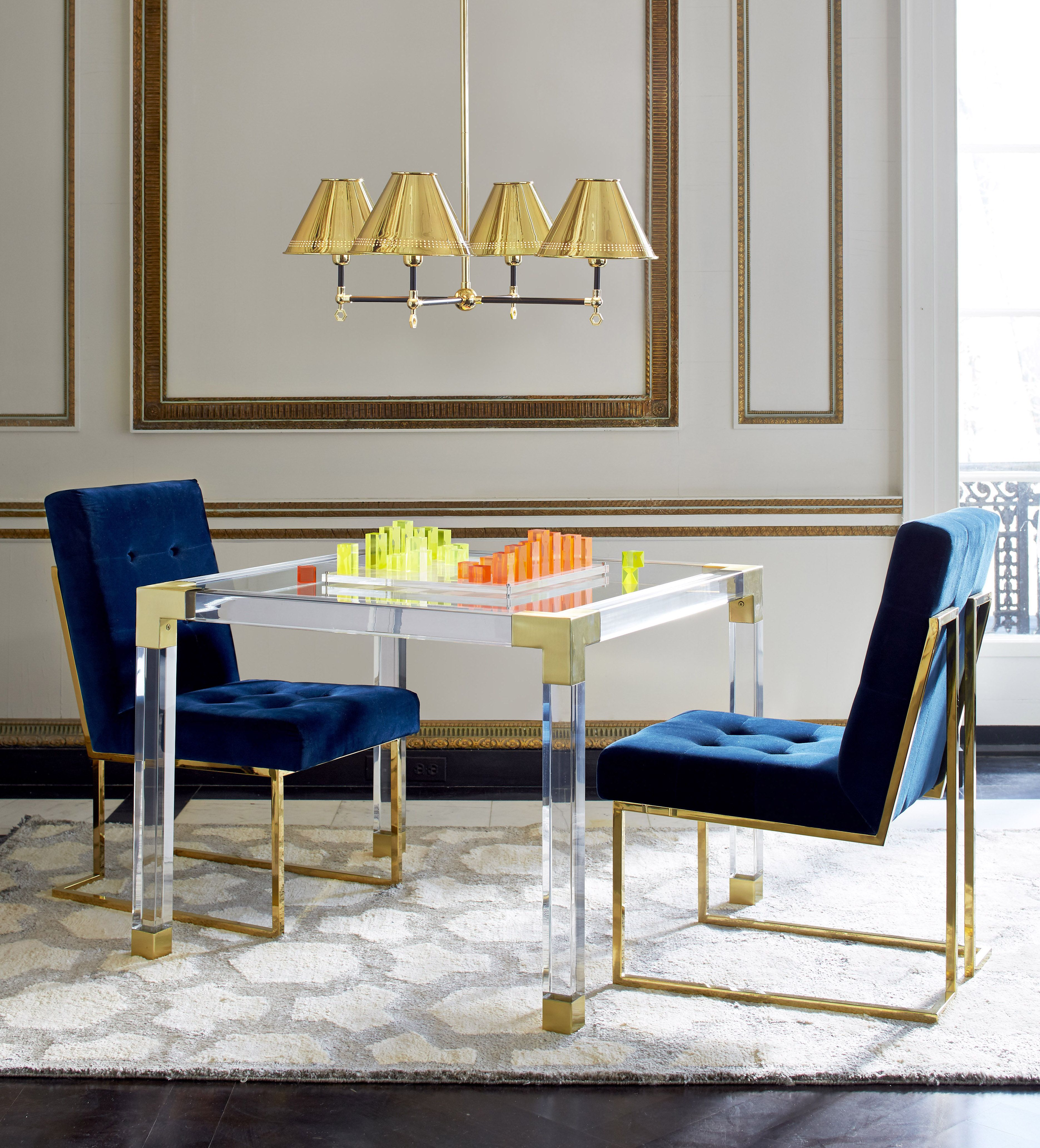 Jacques Game Table Living Room Chairs Diy Living Room Modern Living Room Decor