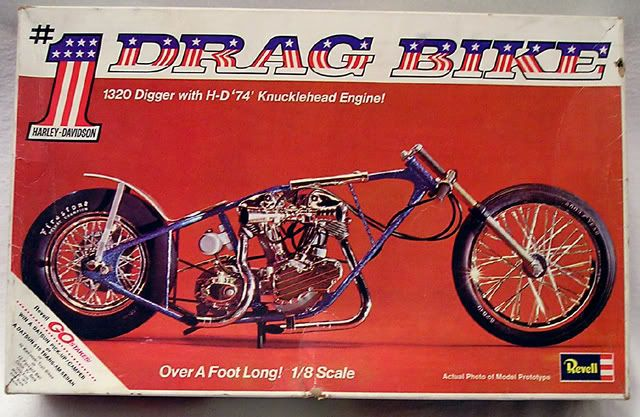 1971 Harley Drag Bike Motorcycle Model Kits Motorcycle Model Model Cars Kits