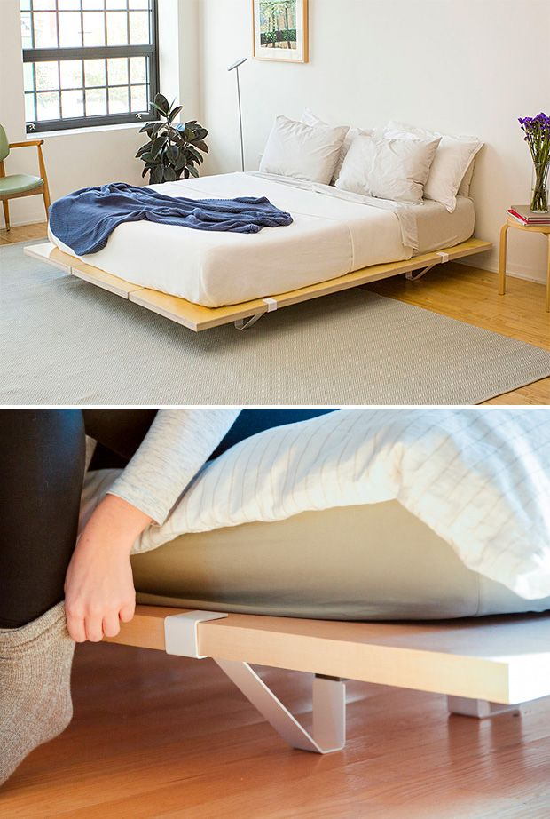 c3128f83f3 From the creators of the incredibly simple & smart Floyd Leg Table comes a  platform bed frame that's equally impressive. It's a modular design, ...