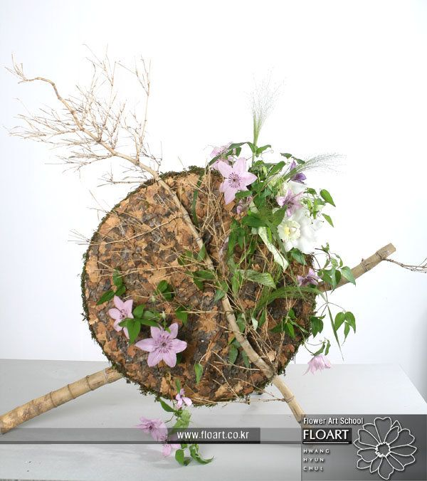 L'artista e designer Jade Hwang, designer della Floart Florist Academy, Korea Floral-5531