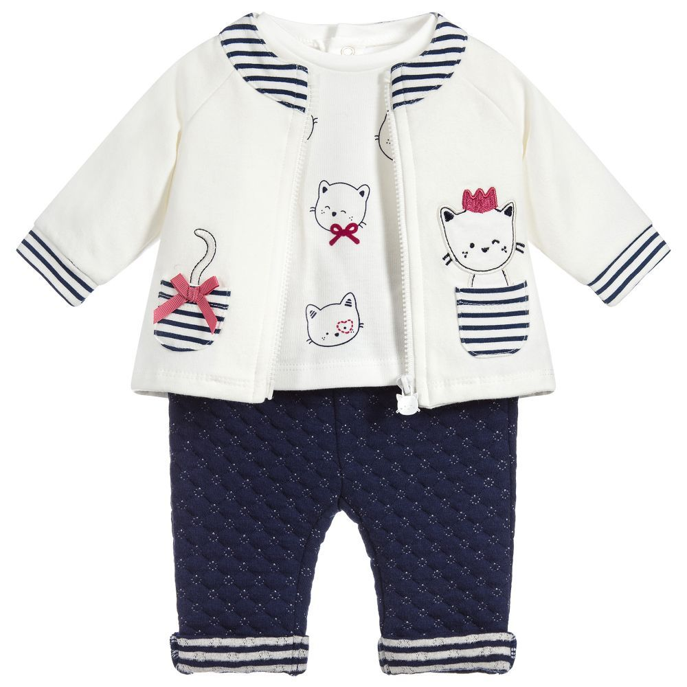 MAYORAL 2 PC BOW PANTS AND TOP 3