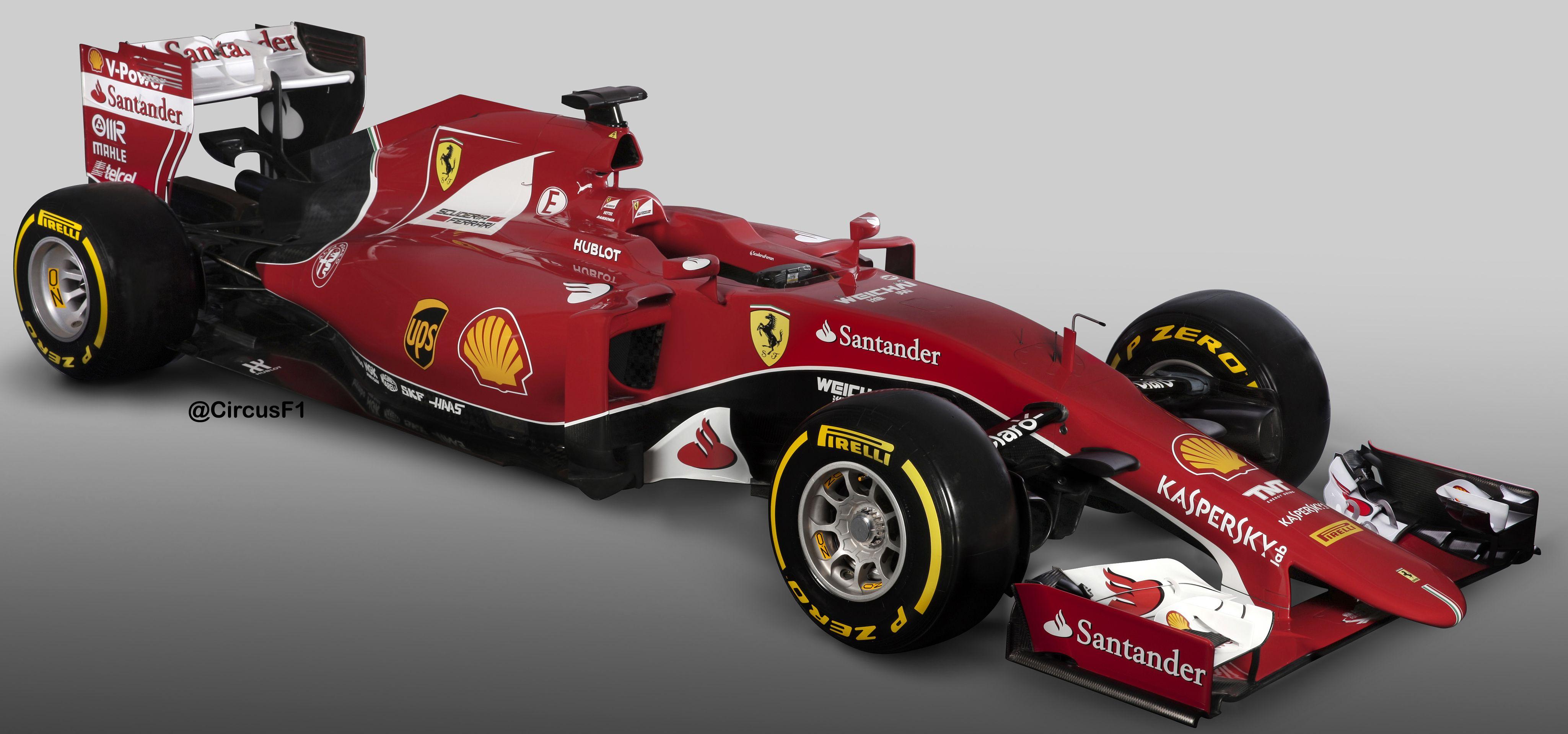 F1 2015 Ferrari