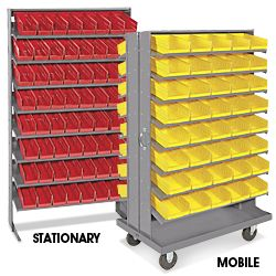 Uline Stocks A Wide Selection Of Gravity Bin Organizers Over Products In Stock 11 Locations Across Usa Canada And Mexico For Fast Delivery