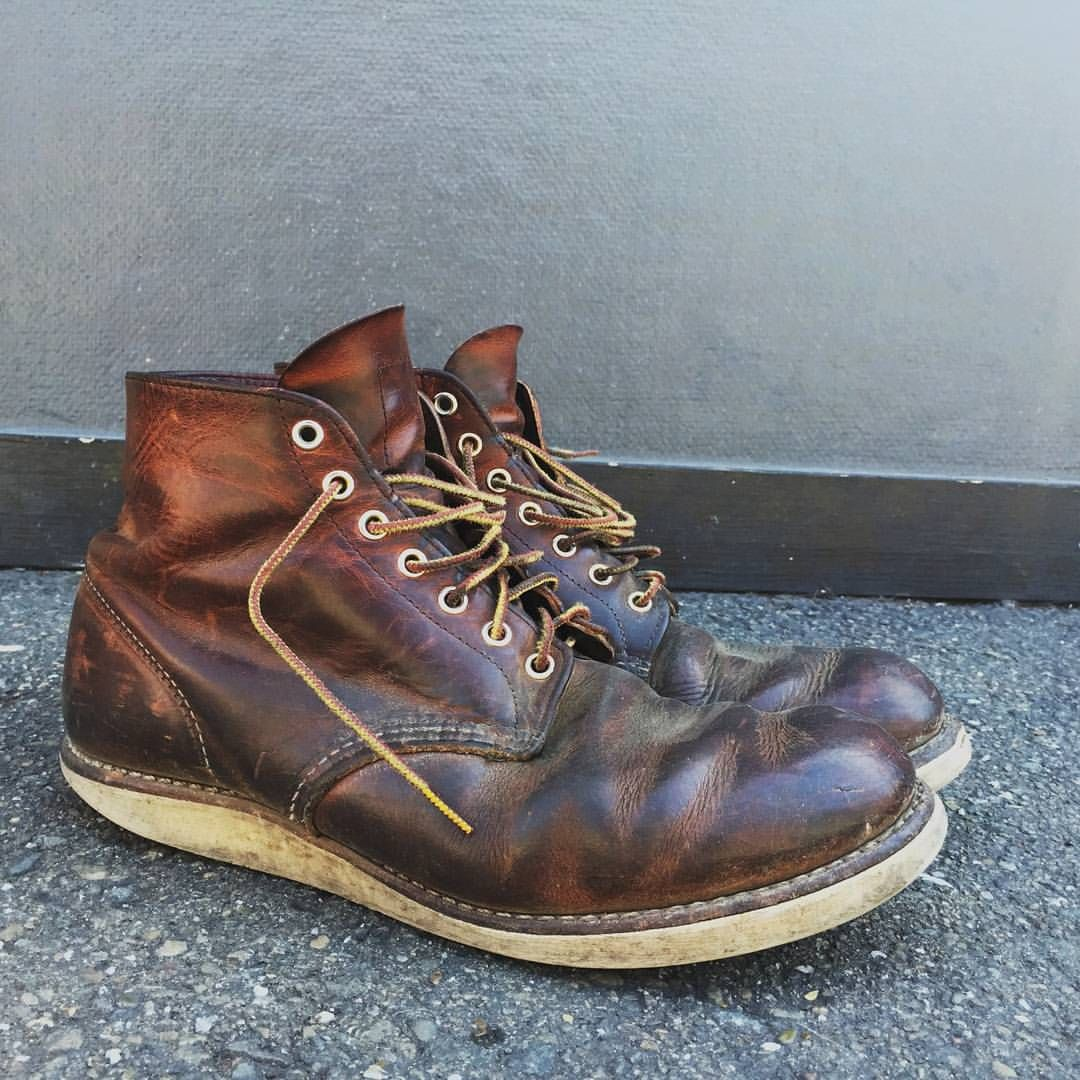 these red wing 9105 boots from lance at stgeorgespirits look so