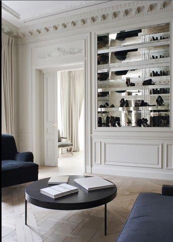 Fabulous Commercial Spaces Balmain Paris Store By Joseph Dirand