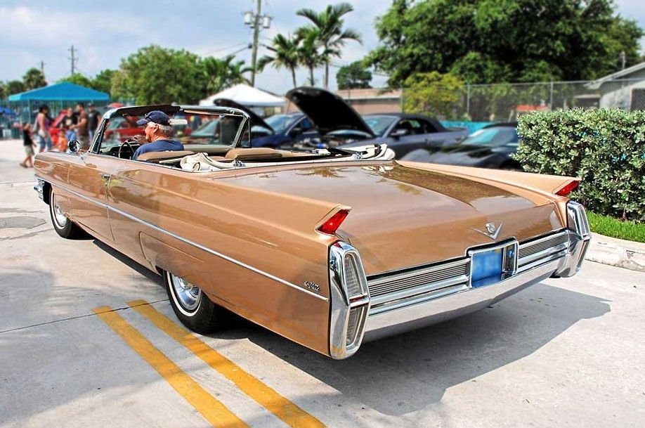 1964 Cadillac DeVille Convertible.  Almost always wanted one of these...