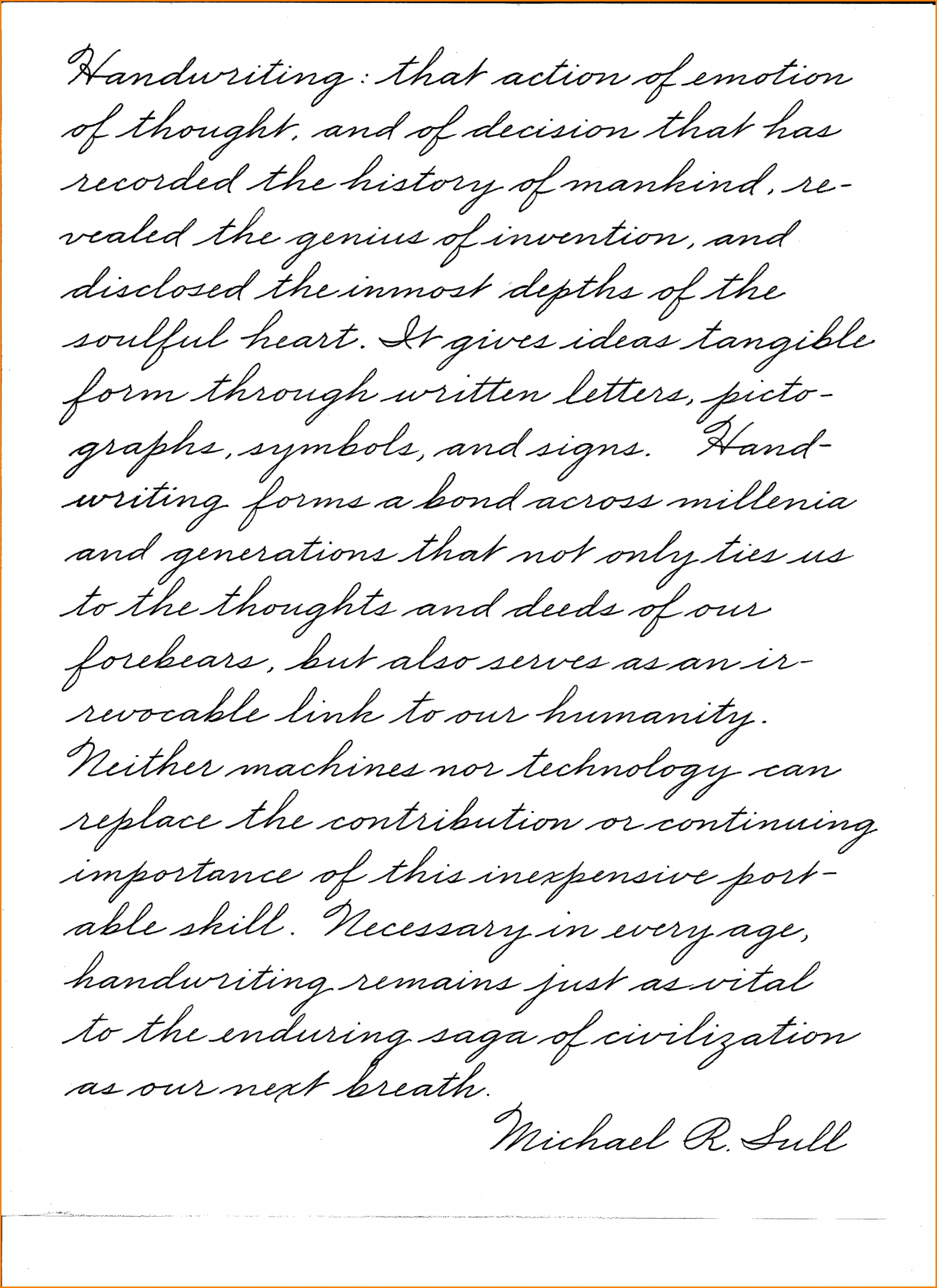 8 Penmanship Practice For Adults