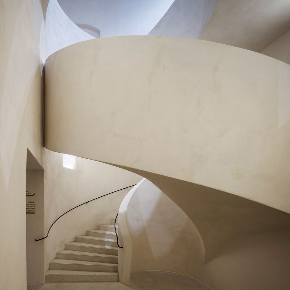 Herzog & de Meuron creates subterranean gallery for Musée Unterlinden in Colmar