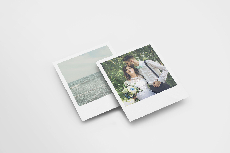 Polaroid Frame Mock Up Ad Sponsored Smart Editable Changeable Object Postcard Mockup Print Mockup Poster Mockup