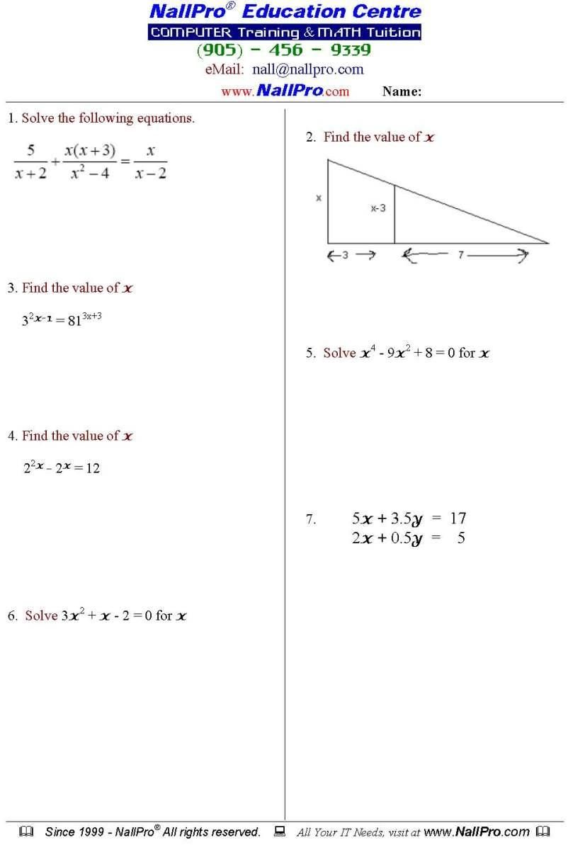 38 Printable Math Worksheets Grade 12 Printable Math Worksheets Math Worksheets Worksheets [ 1193 x 802 Pixel ]