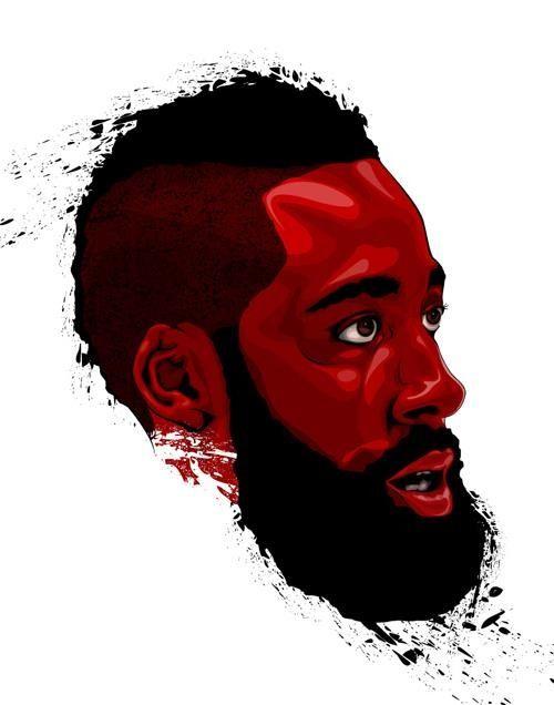 James Harden Houston Rockets Jugadores De Baloncesto Fondos De Pantalla Basketball Dibujos