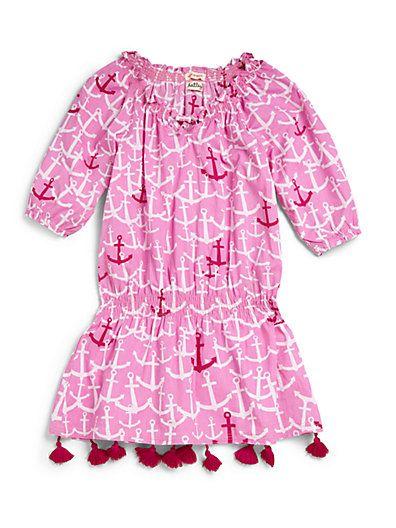 Hatley - Toddler's & Little Girl's Anchors Beach Dress - Saks.com