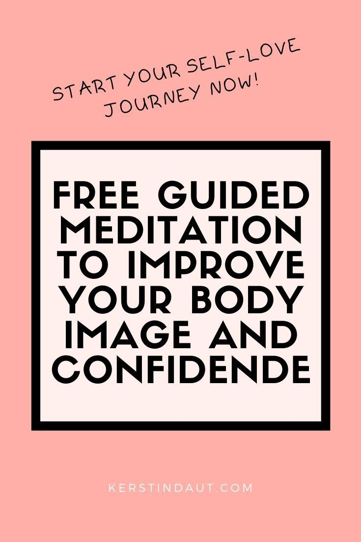 Meditation has SO many benefits! I recorded a guided one for you to improve your body image every day; it's easy to add to your daily routine. #meditation #yoga #body #bodyimage #confidence #selflove #edrecovery #confidencequotes #affirmation #spirituality #mindset #personalgrowth #personaldevelopment