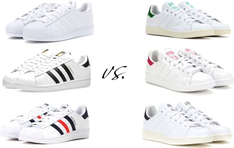 9ce6691242e9 The shoes Adidas sneakers superstar vs stan smith by FTG  http   www