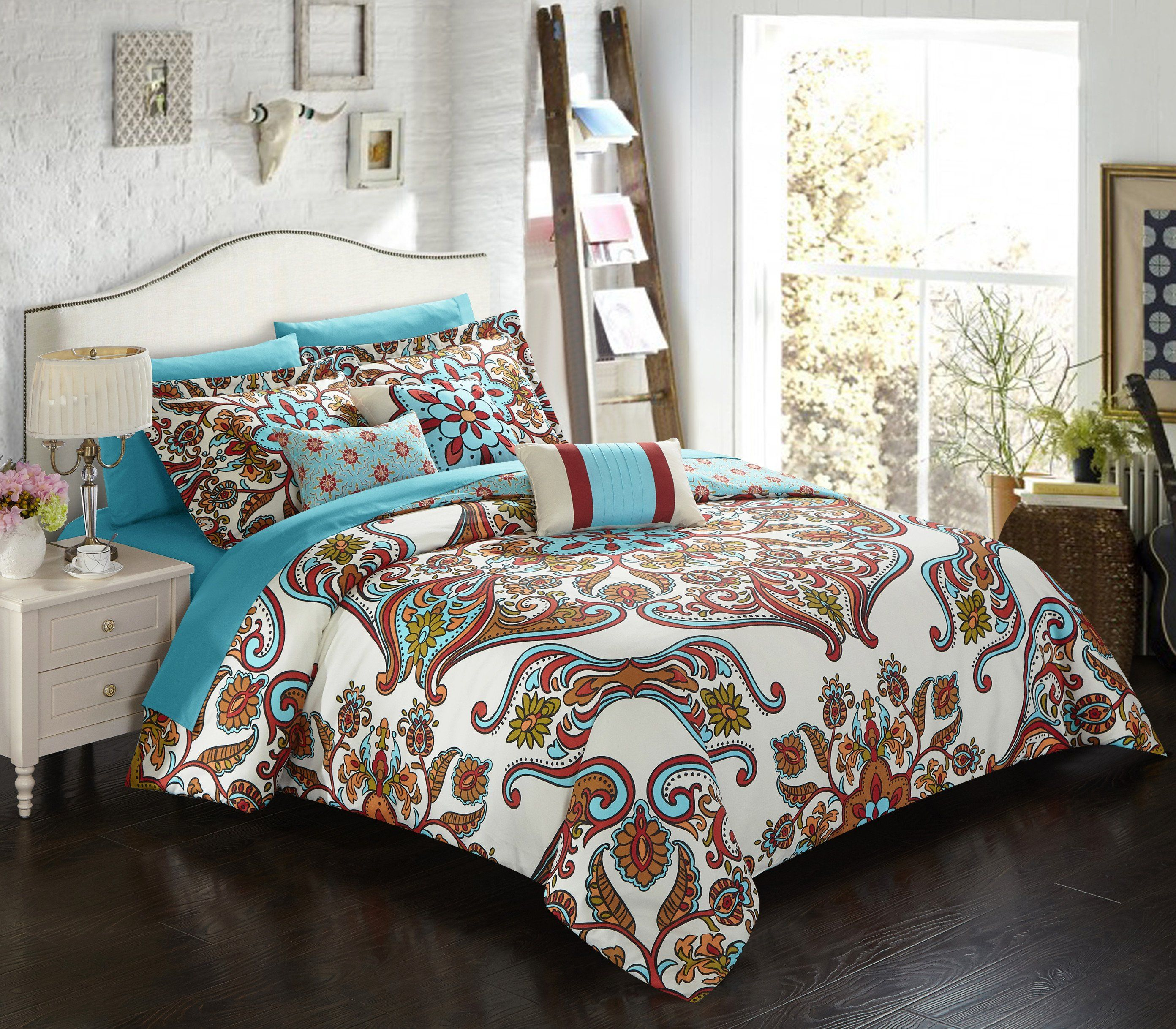 black home pattern ideas cover queen decor table white duvet dining bohemian gypsy set inspiring you colorful quilt junk bedding comforter make bedroom bag and amazon collection that mandala will style by in boho design covers full