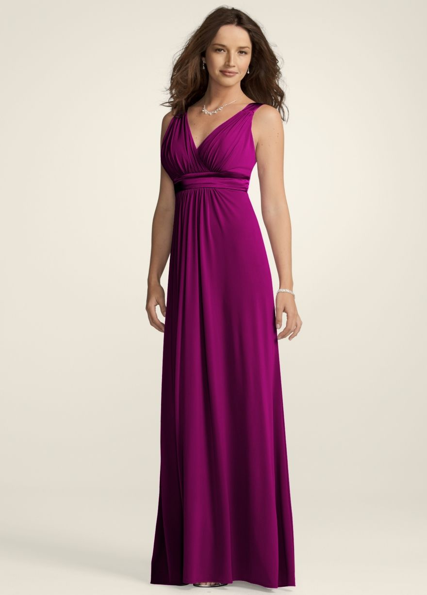 Bridesmaids dresses in Sangria - recycledbride.com | Wedding | Pinterest